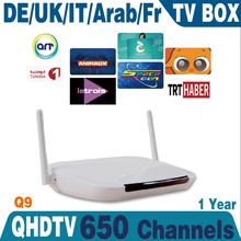 Remote Control Free Europe IPTV Box 700 Plus IPTV Arabic Channel TV Box Android 4.2 WiFi HDMI Smart Android Mini PC TV Box MS036
