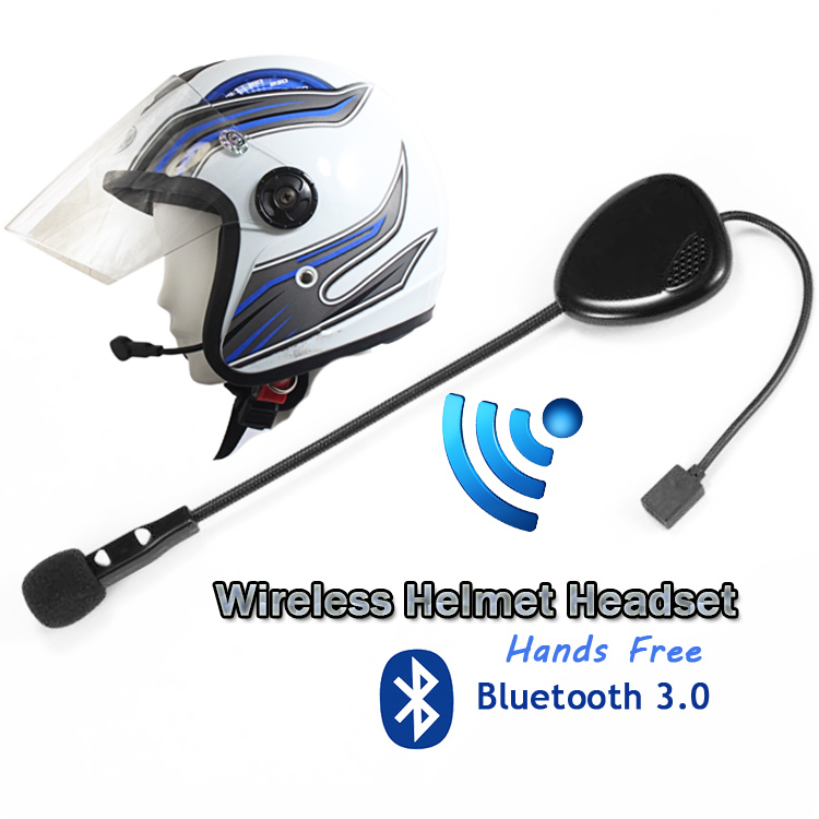 helmet earphone motorcycle hands free wireless bluetooth v3 0 headset for helmet use in helmet. Black Bedroom Furniture Sets. Home Design Ideas