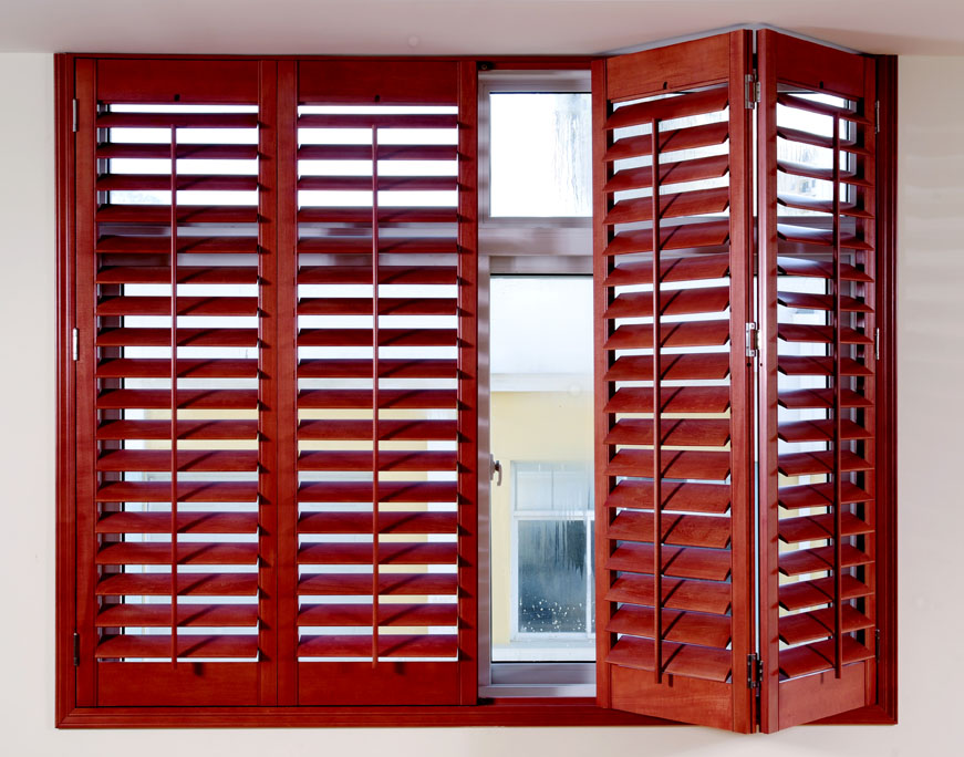 Wood shutters blinds imported basswood curtain folding door sliding(China (Mainland))
