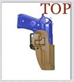 Tan Airsoft Tactical Holster Beretta M9 fs 92 Military Concealment Right Waist Paddle Gun Holster Belt