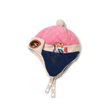 Hot Sale Toddlers Warm Cap Hat Beanie Cool Baby Boy Girl Kids Infant Winter Pilot Cap Free Shipping(China (Mainland))