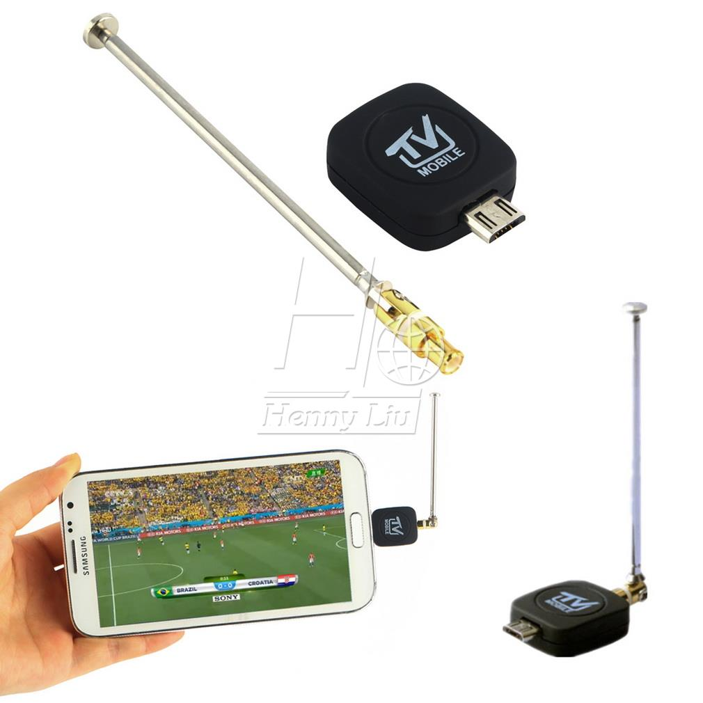 Mini Micro USB DVB-T Tuner Receiver ISDB-T Digital Mobile TV for Android universal Phone(China (Mainland))