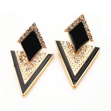 EA242 Fashion accessories chromophous sparkling  multicolor stud earring ci  TM- 5