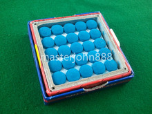 50pcs Glue-on Pool Billiards Snooker Cue Tips 9mm Free Shipping Wholesales(China (Mainland))