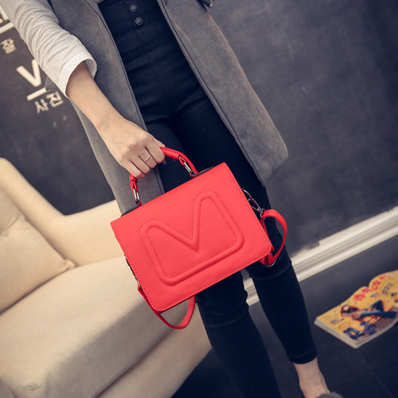Concise Shoulder Bag 2016 New Fashion Trendy Small  Bag Women Cheap Designer Ladylike Crossbody Bag Lady Casual Single Shoulder