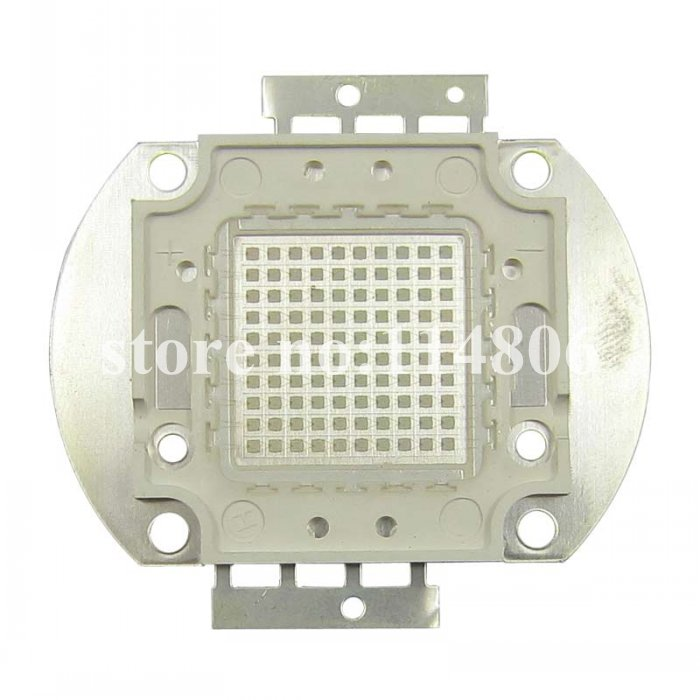 100W Square Base UV Ultraviolet 395nm SMD LED diodes Light Parts F Currency detector<br><br>Aliexpress
