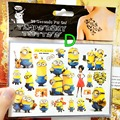 Minions Buddy Child Favourites Temporary Body Art Flash Tattoo Stickers 17 10cm Waterproof Henna Tatoo Home