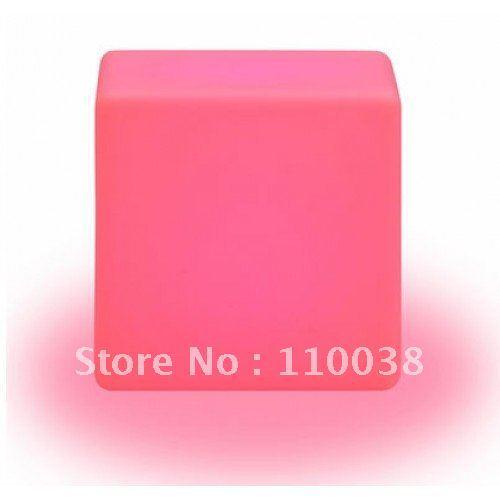LED Cube Stool