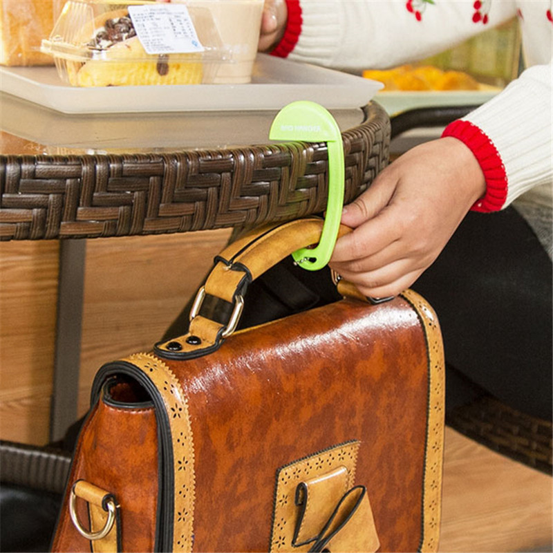 2016 Hot Sale Bag Parts Accessories Portable Exquisite Plastic Desk Chair Handbag Tote Hook Hanger Holder 10.5*5.5cm(China (Mainland))