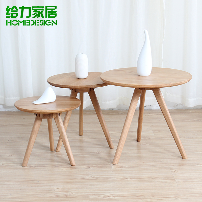petite table ronde bois massif table basse ikea minimaliste petit appartement salon table basse. Black Bedroom Furniture Sets. Home Design Ideas
