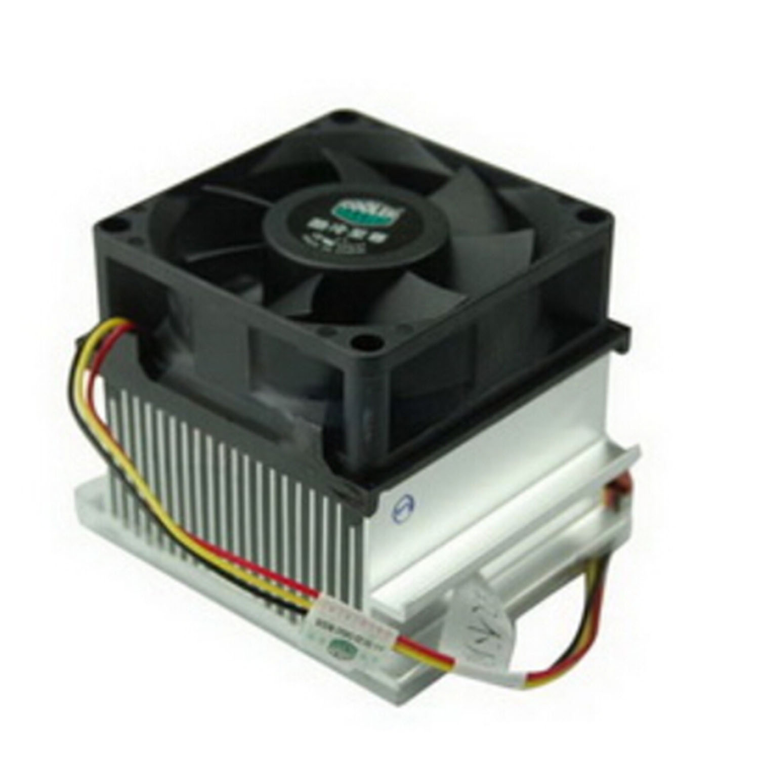 Aluminium Heatsink 3Pin Cooling Fan CPU Cooler for Intel P4 Socket 478(China (Mainland))