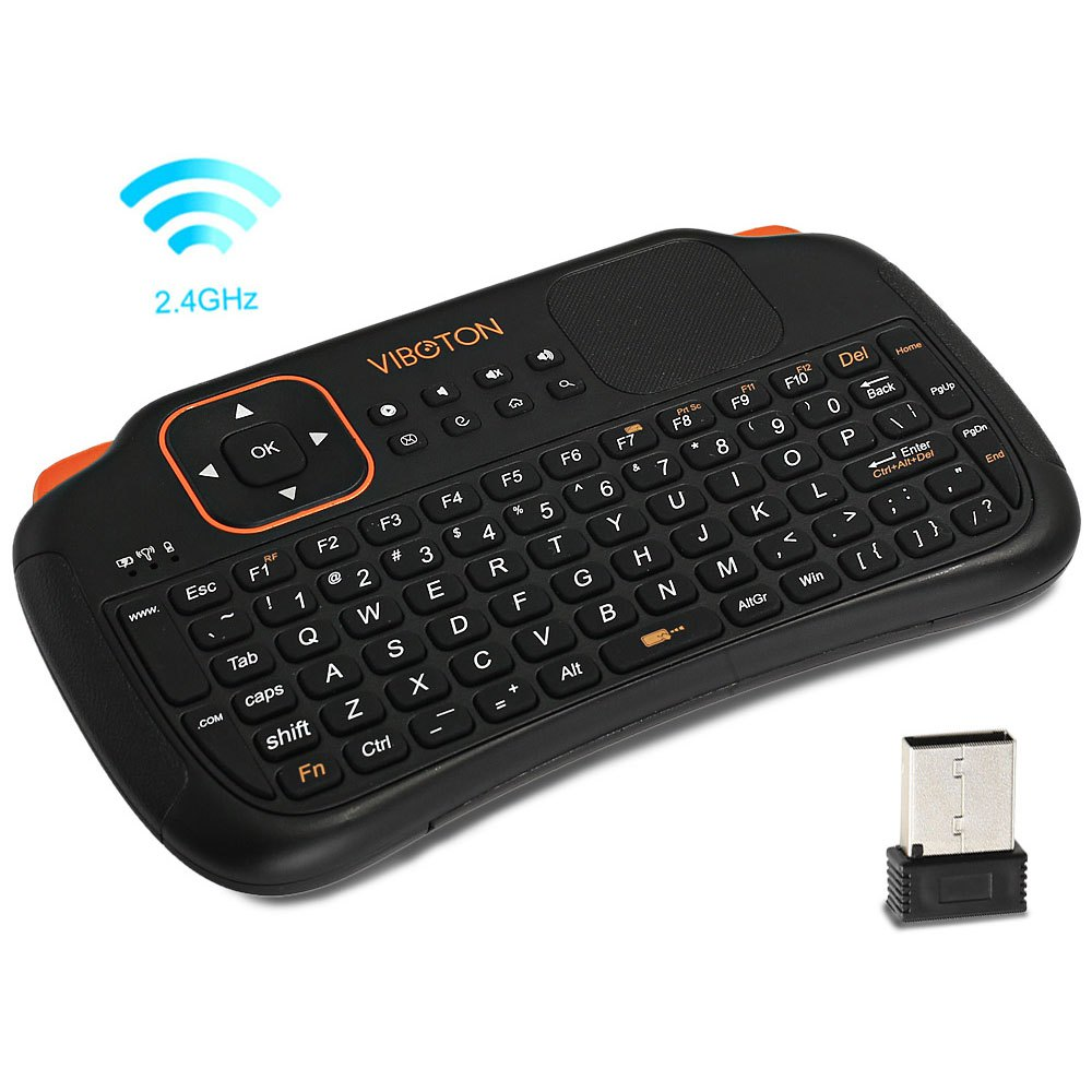 Viboton S1 3 in 1 2.4GHz Wireless Keyboard Air Mouse Remote Control with Touchpad Auto Sleep And Auto Wake Keyboard For Windows(China (Mainland))
