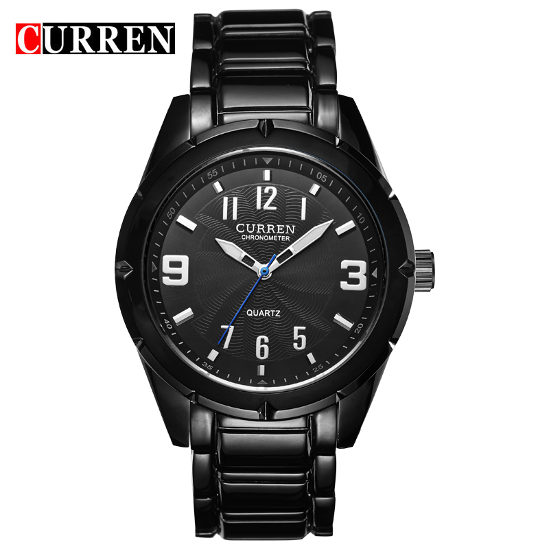 watches men luxury brand CURREN 8037 stainless steel men's watch minimalist male waterproof watch(China (Mainland))