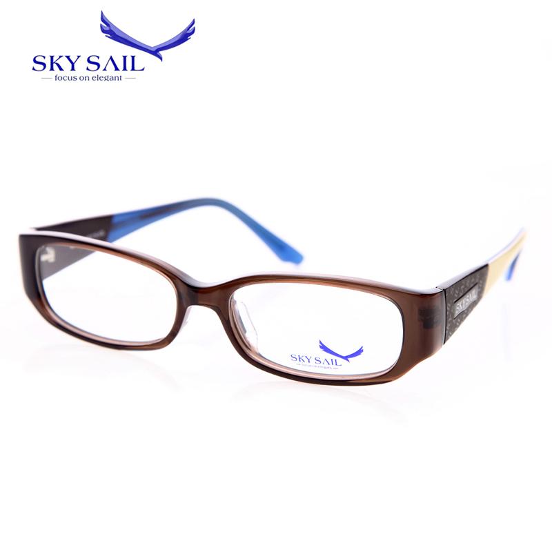 skail sail gafas ss010 women glasses frame 2016 leopard design mens eyeglass frames fit clear lens