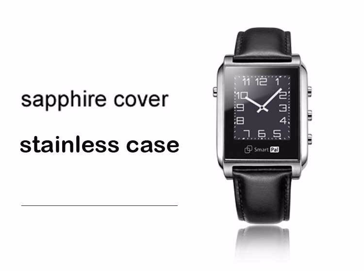 Waterproof 5ATM Smart Watch Smart Pal G1 Sapphire Screen Wristwatch for IOS Android Smartphone Remote Camera Pedometer GPS Watch