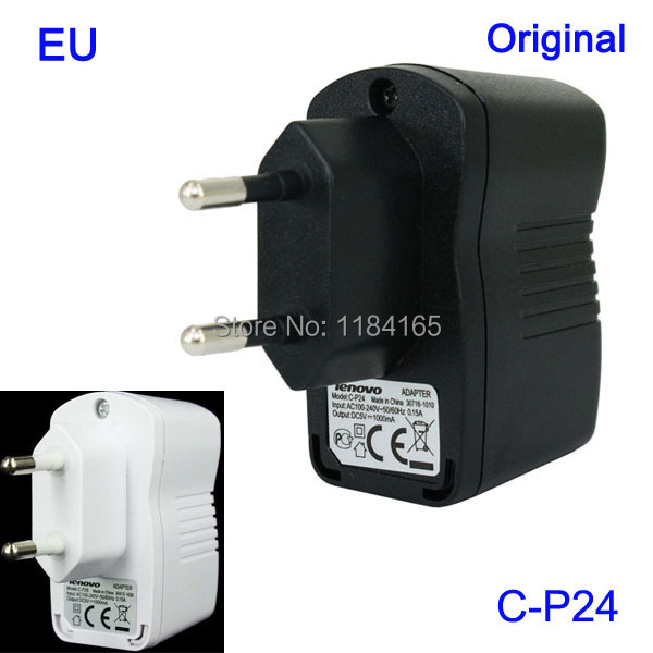 100% Original C-P26 C-P24 C-P38 1000mA EU USB Charger for Lenovo K900 / K910 / P780 /A850/A2010/A3600/ S960 / S820/ S580(China (Mainland))
