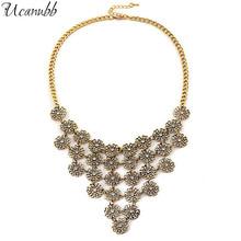fashion necklace vintage snow flake Pendant alloy selling jewelry wholesale(China (Mainland))