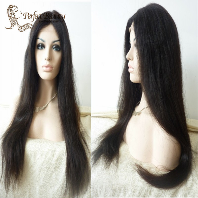 New Style Fashion Long Straight women wigs lace front  Wigs <br><br>Aliexpress