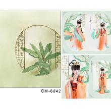 photo studio baby backdrop Hand-drawn cartoon retro plant fond de studio de photographie 5x7ft(150x220cm)