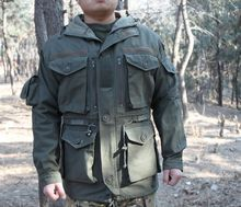 Tactical Coat 2015 Brand New Outdoor Combat Cotton Military Style Army Jacket for Men Trench Parka(China (Mainland))