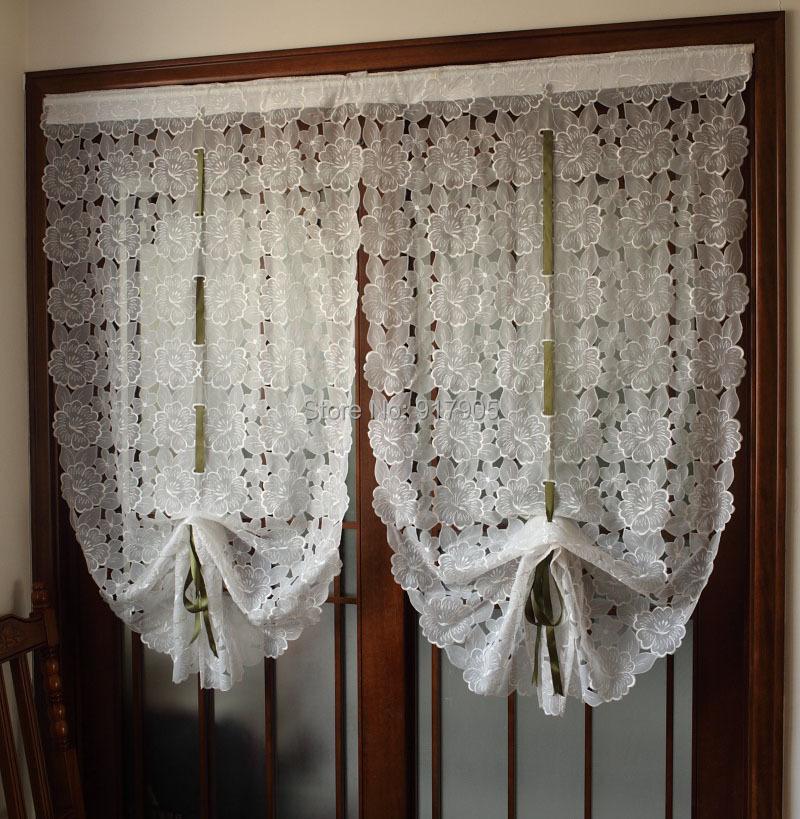 Rom ntica flor de cerezo cortinas del sal n elegant for Cortinas vintage salon