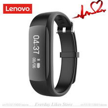 Buy Original Lenovo HW01 Bluetooth 4.2 Smart Wristband Heart Rate Moniter Pedometer Sports Fitness Tracker Android iOS SmartBand for $24.99 in AliExpress store