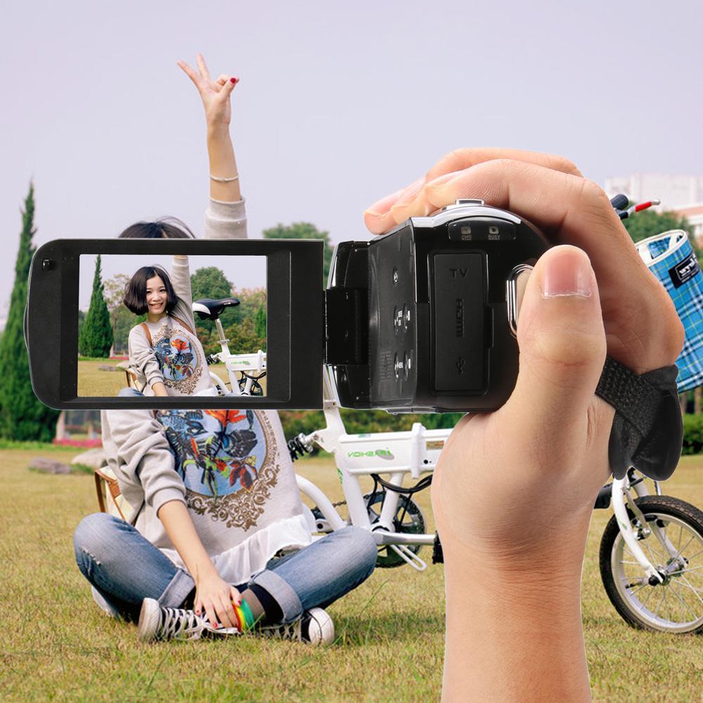 20MP CMOS 2.7 inch TFT LCD Screen FHD 1080P Digital Camera Cam DV 8x Digital Zoom,Anti-shake Portable Camcorder Camera SD Card(China (Mainland))