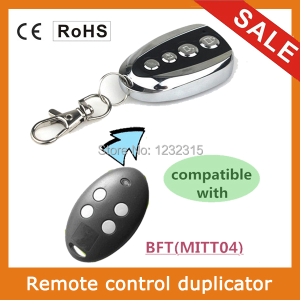 Compatible with Universal 433.92Mhz BFT MITT04 rolling code remote control(China (Mainland))