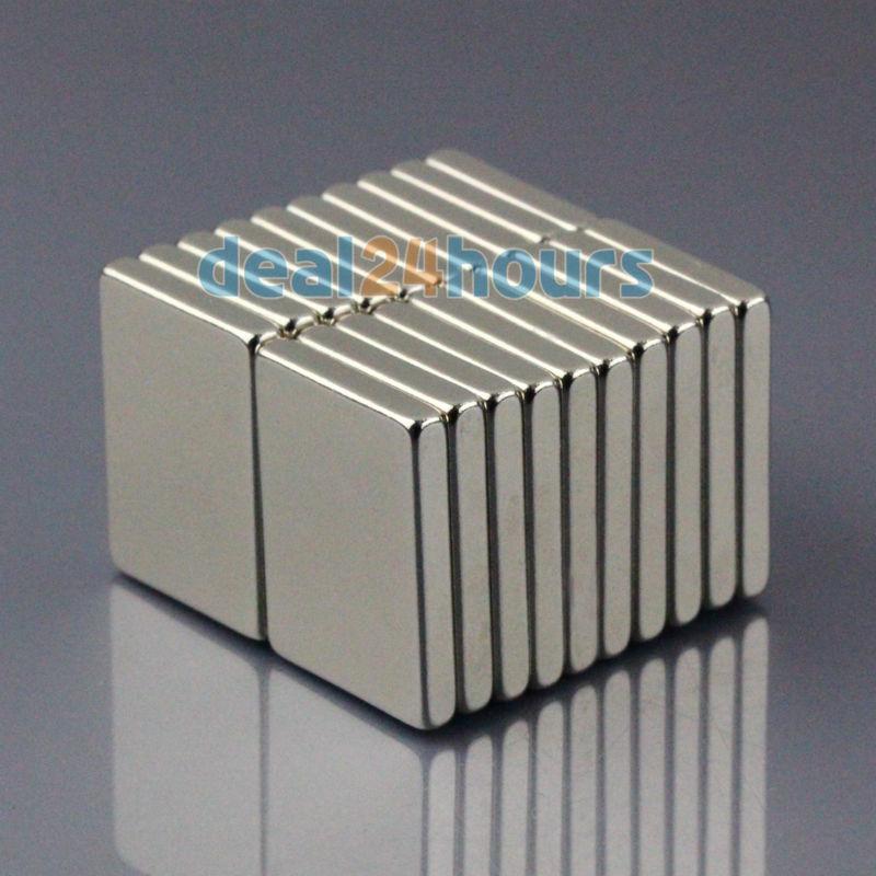 20PCS N50 Bulk Super Strong Block Cuboid Magnets Rare Earth Neodymium 20 x 15 x 3 mm Free Shipping<br><br>Aliexpress