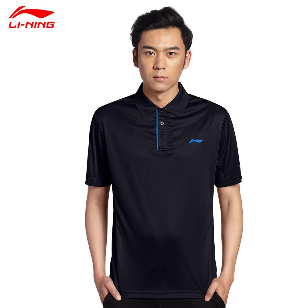 Li-Ning Man Football Jerseys Polo Shirt Men Quick Dry Football Sportswear Polo APLH073(China (Mainland))