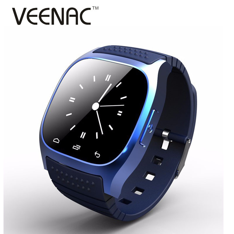 Waterproof Smartwatch M26 Bluetooth Smart Watch With Music Player Pedometer For Apple IOS Android Smart Phone(China (Mainland))