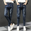 Trendy Women Casual Vintage Boyfriend Harem Pants Dark Light Blue Loose Female Denim Baggy Jeans trousers
