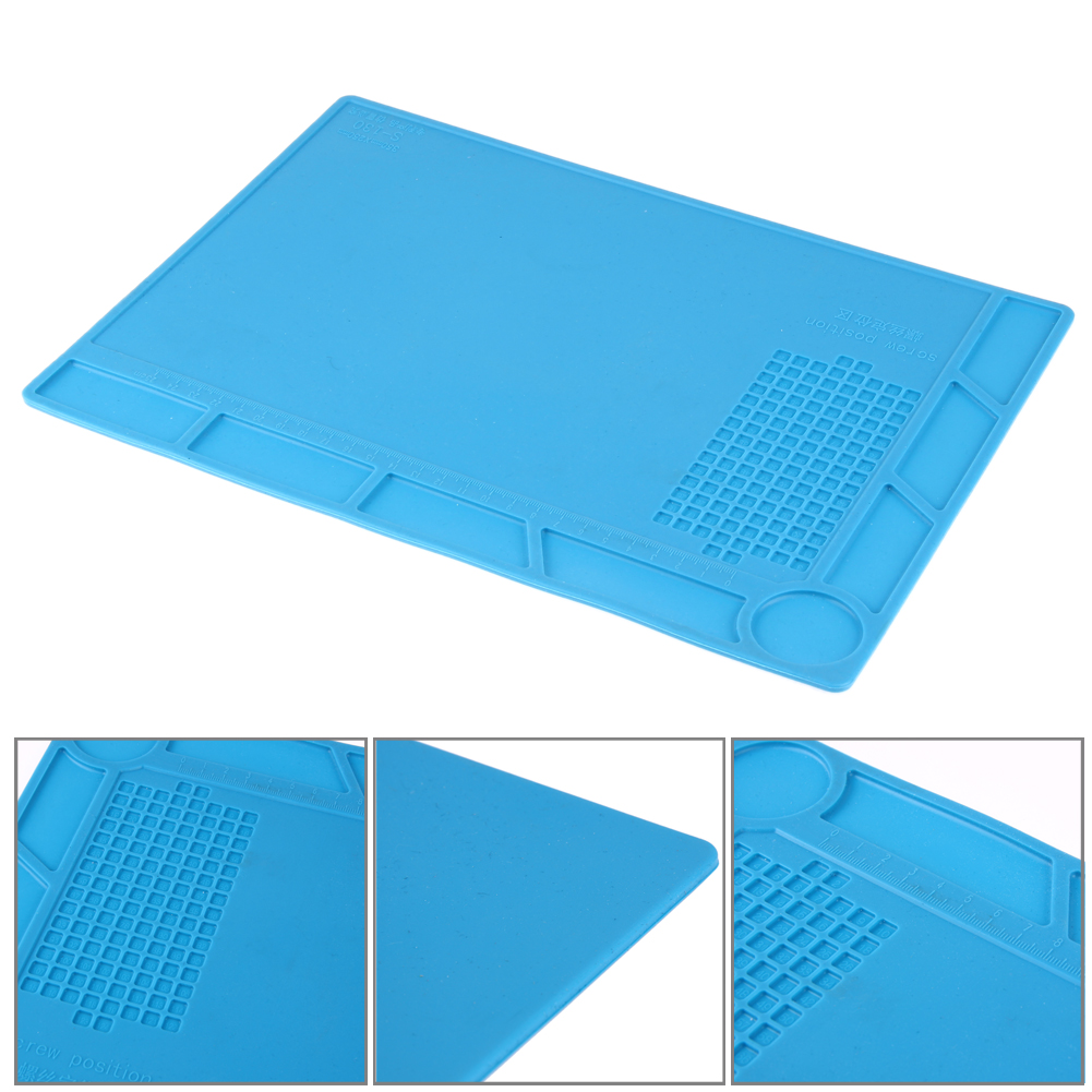 1pcs Heat-resistant  BGA Soldering Station Repair insulation pad insulator pad desk mat maintenance platform New