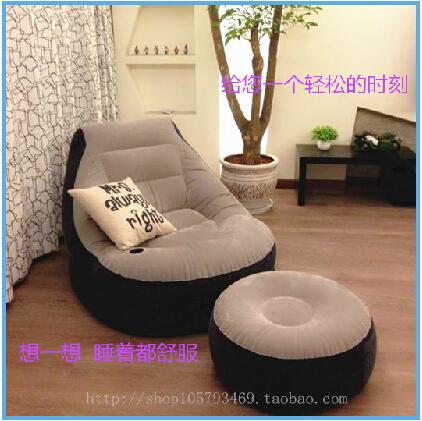 Home Furniture Living Room Furniture Sofa Set Bean Bag Sofa Bed Inflatable Ch
