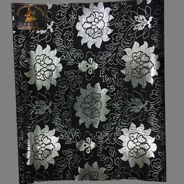 New arrival black with silver flower embroidery sego head tie,super jubilee head wear HTT29-3 (2pcs/pack) multi color on sale(China (Mainland))
