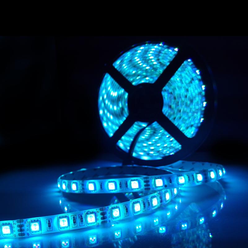 16.4ft 5M Waterproof Flexible strip fita tira de led 300leds Color Changing RGB SMD5050 LED Light Strip(China (Mainland))