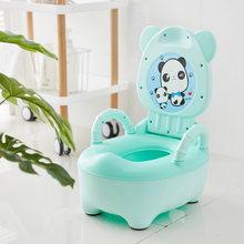 Baby Potty Toilet Bowl Cartoon Pot Kids Training Toilet Seat Portable Potty Cute Boys Girls Pot Comfortable Potties For Children(China)