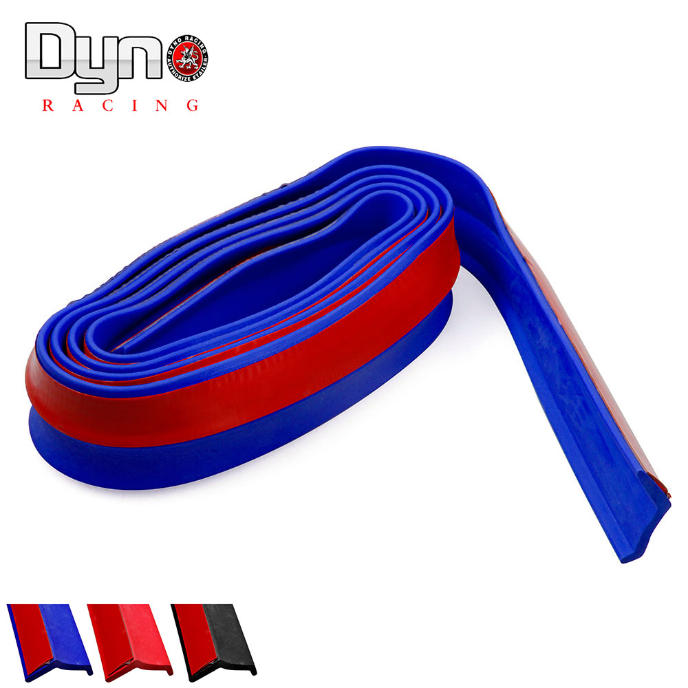 New Ultra-soft rubber bumper Strip Car Width Exterior Front Bumper Lip Kit(China (Mainland))