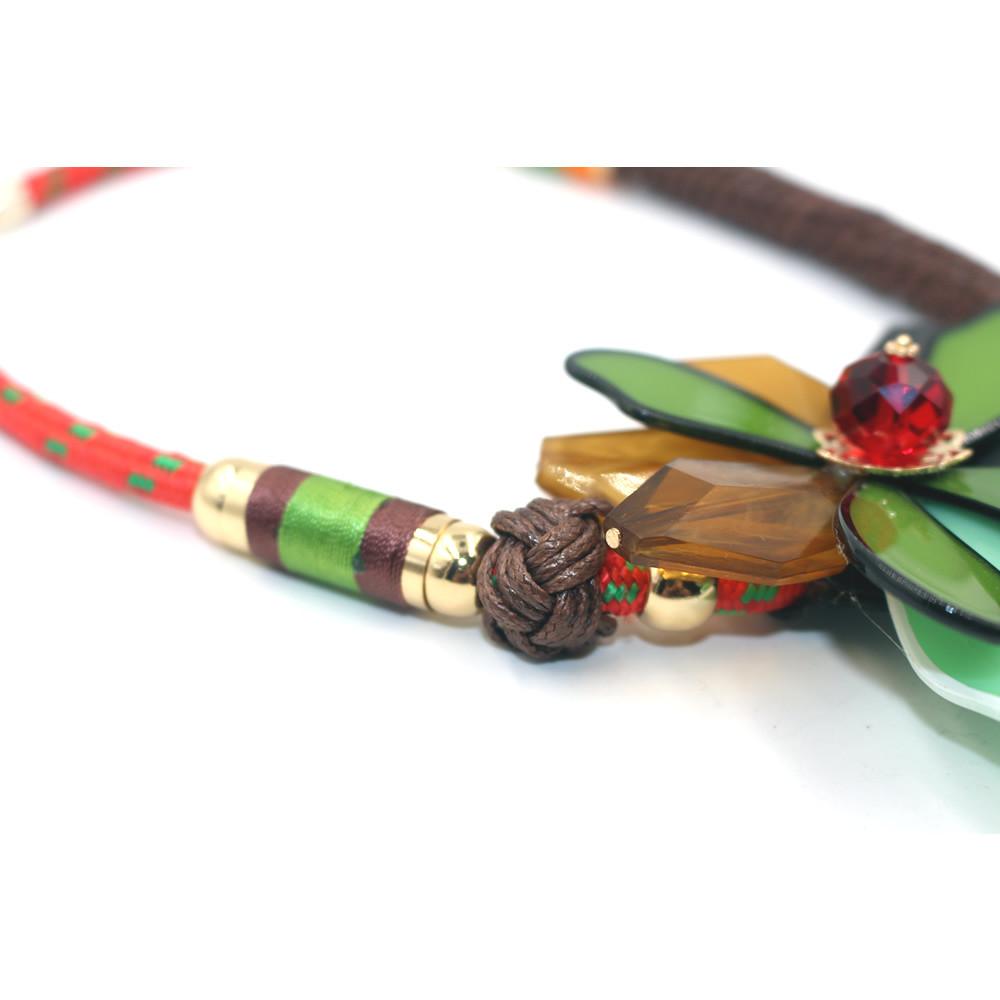 Ожерелье цветок ожерелье акриловые неправильной формы ожерелье мода ювелирных заявление ожерелье 2015 кольер этнических ожерелье kolye бижутерия ожерелье колье ожерелье бижутерия