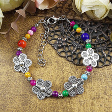 2016 Cassic Fashion New Cute Women Nepal Collectables Bracelet Multi-color Optional DIY Ethnic Jewelry For Women Gift(China (Mainland))