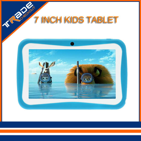 Dual Core Children Tablet PC 7 inch RK3026 Android 4 4 512MB RAM 8GB ROM Kids