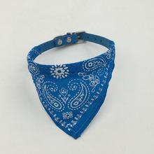 1Pc Lovely Pet Dog Scarf Collar Adjustable Puppy Bandana Quality Pet Cat Tie Collar(China (Mainland))