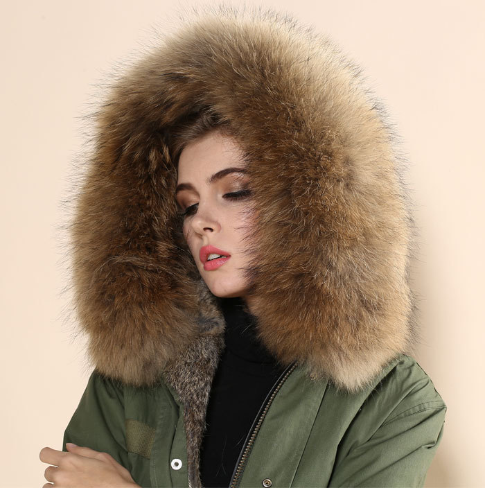 Rabbit fur coat price online shopping-the world largest rabbit fur