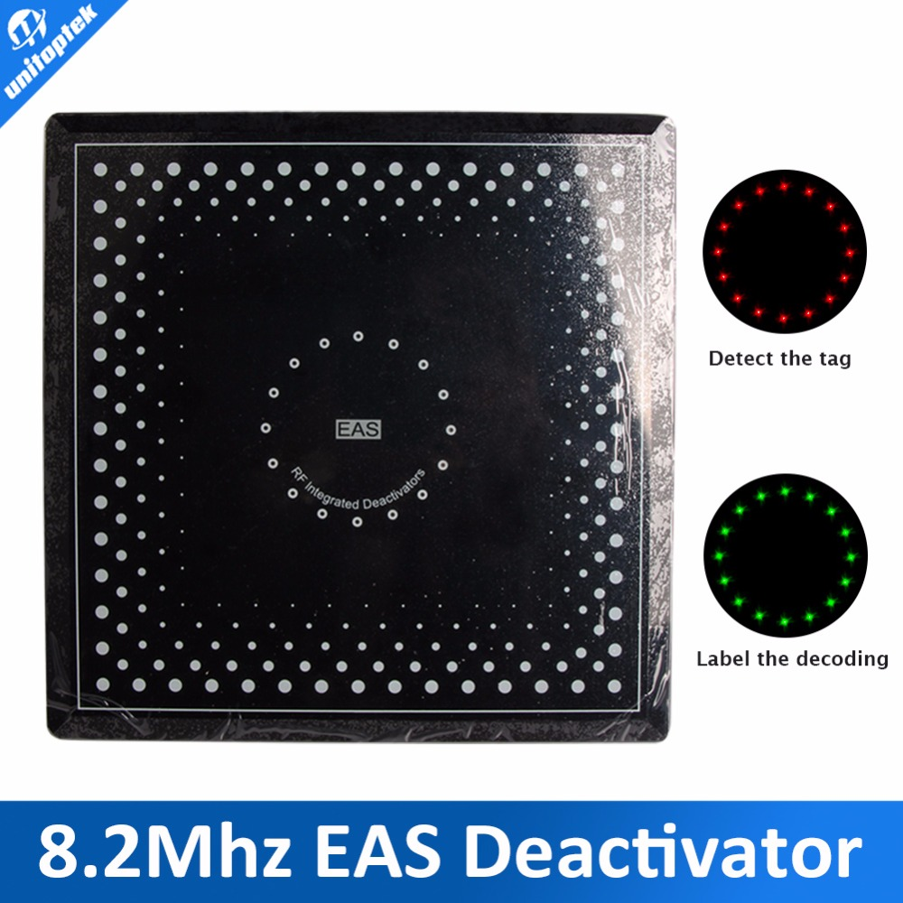 EAS deactivator RF 8.2Mhz soft label Electronic Article EAS RF Deactivator Pre-alarming, with sound and lights(China (Mainland))