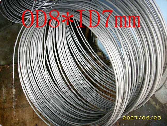 OD8mm*ID7mm,Stainless steel gas line pipe,stainless steel tube,stainless steel coil pipe(China (Mainland))