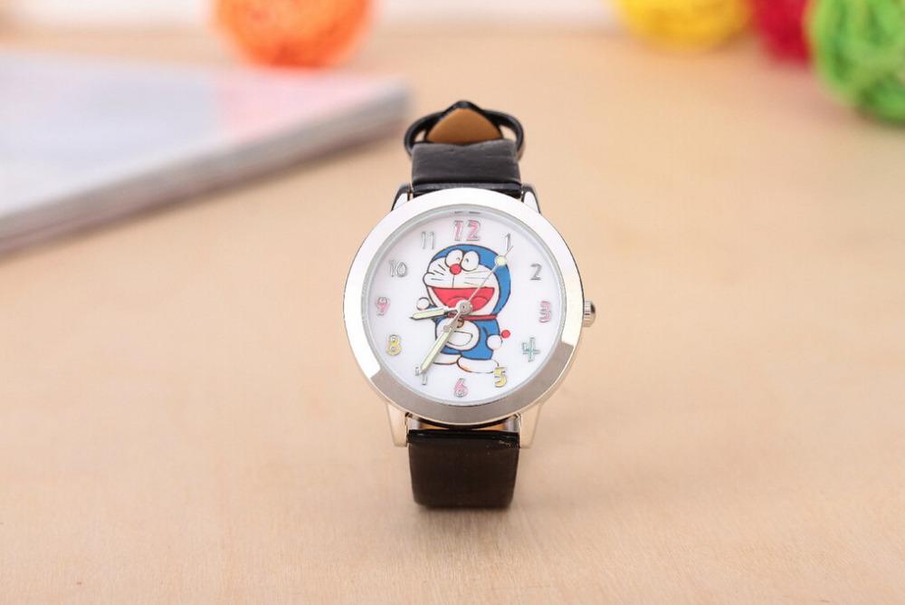 New fashion cool doraemon cartoon watch for children girls silicone digital watches for kids boys Christmas gift wristwatch(China (Mainland))