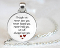 Miscarriage Keepsake Pendant Necklace Loss of Unborn Baby Miscarriage Necklace Miscarriage Remembrance