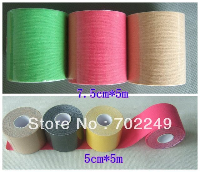 7.5cm x 5m Kinesiology Tape Compare toKinesio Tex Tape quality-  Extra Water Resistant