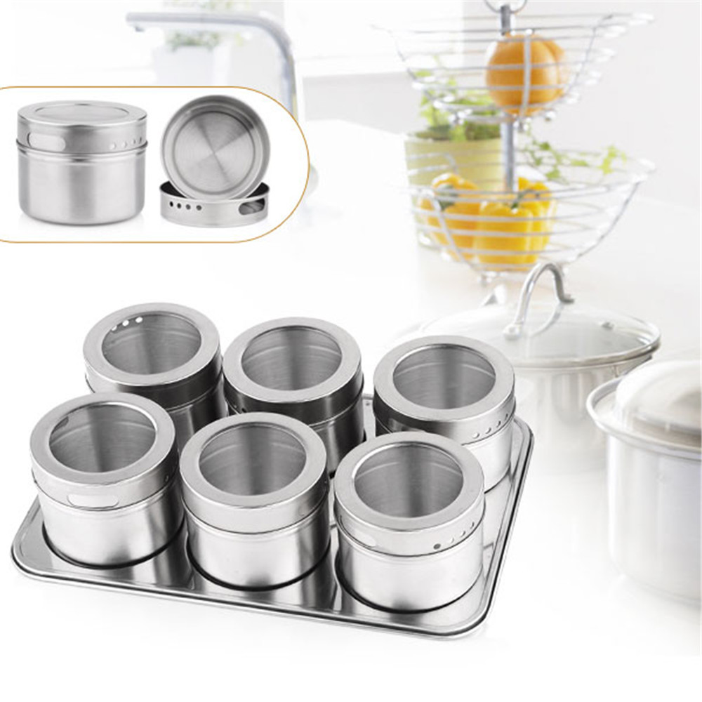 6Pcs-set-Stainless-Steel-Cruet-Condiment-Box-Set-Kitchen