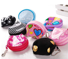 Women Fashion Garden Style Flowral Coin Wallets Babg Nappy Chaning Baby Care Purses Cases Portable Bag Free Ship B10009